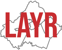 LAYR Locality Map Logo